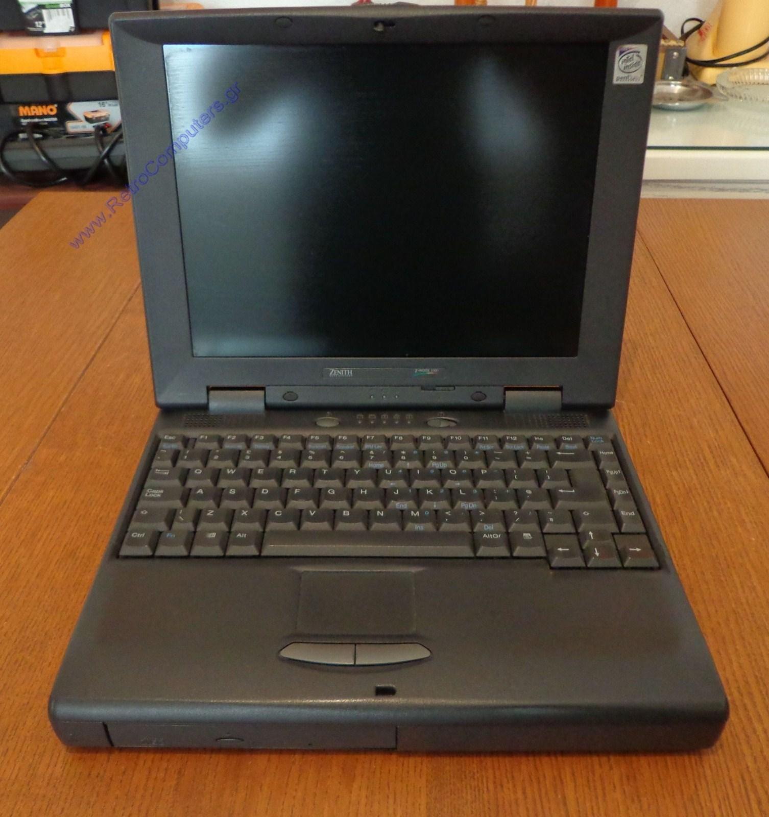 Υπολογιστές - Category: Zenith Z-Note 1000 (Laptop) - Image